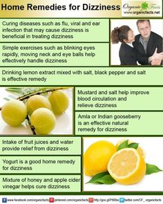 Home remedies for dizziness include intake of ginger, vaccinations like doxylamine, stress relief and sleep salt, pepper, vinegar and must. Home Remedies For Dizziness, Insomnia Remedies, Natural Headache Remedies, Natural Health Remedies, Herbal Remedies, Cold Remedies, Health And Beauty Tips, Health Tips, Health And Wellness