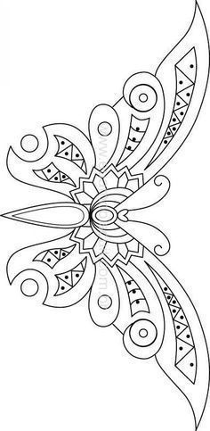 flores bordadas a mano con hilo - Buscar con Google