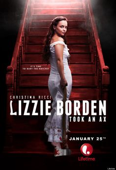 Christina Ricci Looks Delightfully Murderous As Lizzie Borden In Lifetime Movie