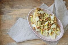 Recipe: Grilled Endive, Blue Cheese, Pear and Walnut Salad - one of my fave winter salads!