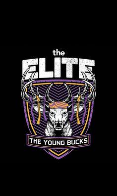 Young Bucks superkliq Bullet CLUB T /_ shirt super kick