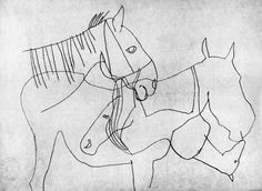 Vajda Lajos :: Lovak :: Magyar Képzőművészeti Galéria Web Gallery, Les Oeuvres, Random, Artist, Drawings, Casual