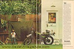 """1975 Kawasaki Enduro """"Lots and lots of mud"""""""