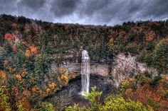 Fall Creek Falls state park, Tennessee. Favorite Campground/Park to go to nearby!