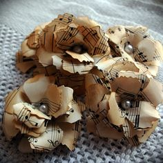 Not exactly sure what these would be used for, but you could do other things with old sheet music...possibly.