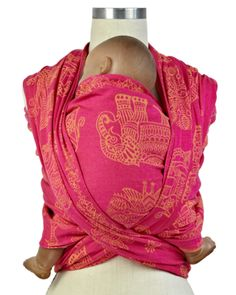 Didymos Woven Wrap Baby Carrier - India Summer | Caribou Baby