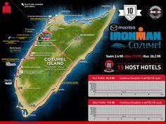 IRONMAN Cozumel Island Map - IRONMAN Official Site | IRONMAN triathlon 140.6 & 70.3