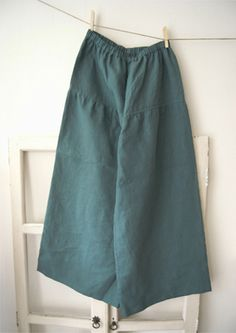 Linnet pattern No55 - Easy Pants with Yoke