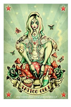 Tattoo Cult Poster. by ScreamingDemons