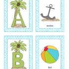The alphabet cards goes great with a beach or ocean theme. There are 26 alphabet cards, along with 26 labeled picture cards.   These cards provide ...
