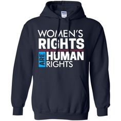 Women's right are human rights Pullover Hoodie 8 oz
