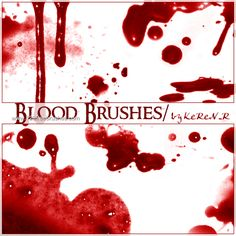 Blood 19 - Download  Photoshop brush http://www.123freebrushes.com/blood-19/ , Published in #BloodSplatter, #GrungeSplatter. More Free Grunge & Splatter Brushes, http://www.123freebrushes.com/free-brushes/grunge-splatter/   #123freebrushes