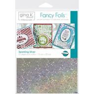 Thermoweb Gina K Deco Foil Sheets Sparkling Silver from my craft room
