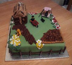 Garden cake http://cakesandkeepsakes.weebly.com/blog.html