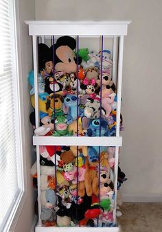 Cute Stuffed Animal Storage And Organization Diy Idea