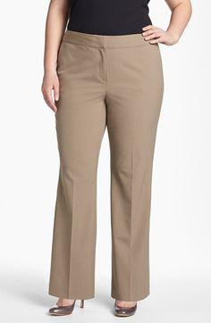 #Sejour                   #Bottoms                  #Sejour #Curvy #Pants #(Plus #Size) #Barley         Sejour Curvy Fit Pants (Plus Size) Barley 20W                                 http://www.snaproduct.com/product.aspx?PID=5137331