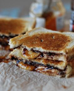Fontina, Apricot and Chocolate Grilled Cheese