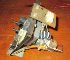 ROWE AMI CD100F CD 100 JUKEBOX TITLE PAGE MOTOR ASSEMBLY, GUC READY TO WORK #ROWE
