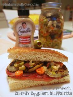 Eggplant Muffaletta by Rhubarb and Honey