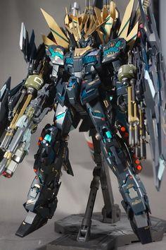 Custom Build: MG 1/100 Unicorn Gundam 02 Banshee Norn Full Armor Equipment - Gundam Kits Collection News and Reviews