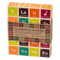 Uncle Goose Periodic Table Blocks : Target