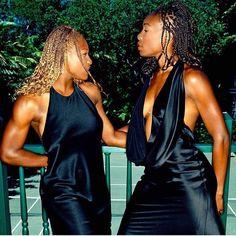 "highkeygay: ""venus and serena williams by george holz "" Serena Williams Photos, Serena Williams Tennis, Venus And Serena Williams, West Palm Beach, Tennis Photos, Tennis Players Female, Reportage Photo, Black Goddess, Angeles"