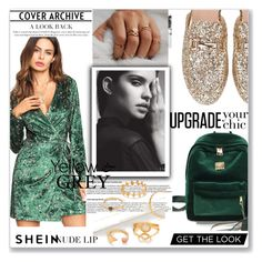 """SHEIN"" by maiah-bee ❤ liked on Polyvore"