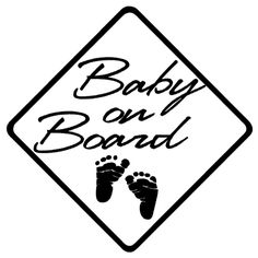 Baby On Board Vinyl Decal Sticker.  Starting at: $2.00