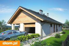 DOM.PL™ - Projekt domu Mój dom Bursztyn CE - DOM BM9-83 - gotowy koszt budowy