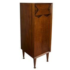 Marc Berge for Grosfeld House Two Drawer  Tall Cabinet