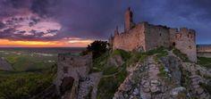 castello di plavecky,castelli slovacchia,monti male karpaty