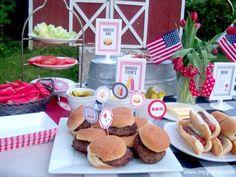 Memorial Day BBQ main1 Memorial Day Backyard BBQ Party