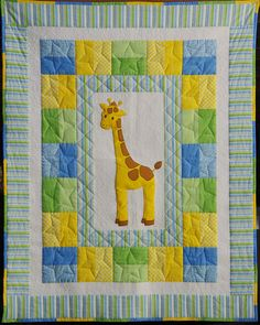 Adorable baby quilt by Ahhh...Quilting