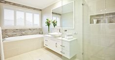 Woollahra 34 - Provincial Homes - New Home Designs - Display Homes - House and Land - Granny Flats - Sydney Granny Flat, Display Homes, New Home Designs, New Homes, Bathtub, Home And Garden, House Design, Bathrooms, Sydney
