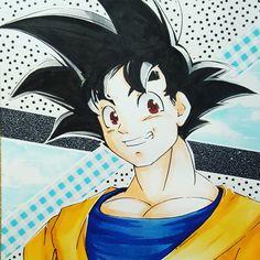 Goku copic