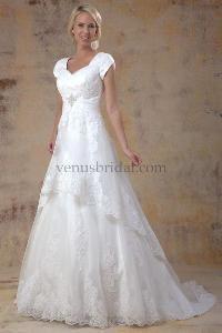 66 best Beautiful Modest Wedding Dresses images on Pinterest | Dress ...