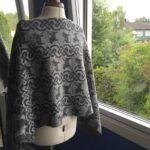 "Poncho på ""tvärsan"" Merino Wool, Lace Skirt, Skirts, Design, Fashion, Moda, Skirt Outfits, Skirt"