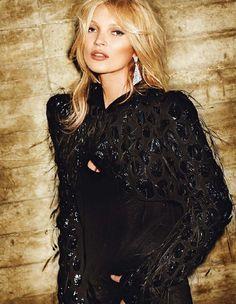 Kate Moss by Mario Testino for Vogue Paris October 2012