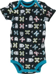 Spooky Baby Grow (Min Order Qty - 4) (BLUBG003) by BUD - Perkal Gift & Clothing Importers SA - Over