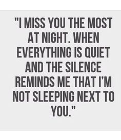 Missing my husband...