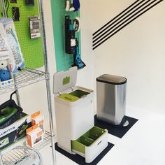 Our new window display is up and it has everything you need ot stay organized and keep your home smelling and looking fresh and clean this spring! Perfect for Spring cleaning we have Casabella Smart and Neon cleaning products and tools, as well as the stainless steel Simplehuman recycler or the Joseph and Joseph Totem Garbage stand. Get a perfectly ironed shirt with a new Rowenta iron? or ward off moths from your winter coats and linens with the Neatfreak Cedar balls or pucks?