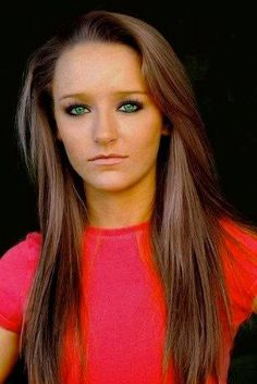 maci on teen mom hair style   Teen Mom' Maci Bookout Gets Sexy New Hairdo to Keep Up With Leah ...
