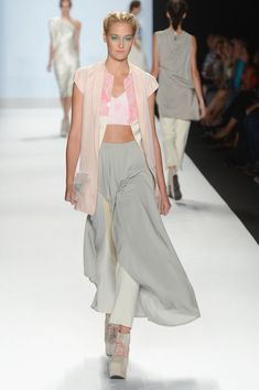 Fabio Costa's collection was impeccable.  He should've won.  Project Runway - Runway - Spring 2013 Mercedes-Benz Fashion Week