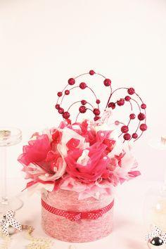 valentine's day chocolate bouquet