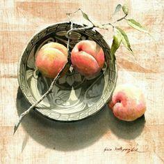 Солнечные акварели корейского художника Shin Jong Sik - Ярмарка Мастеров - ручная работа, handmade