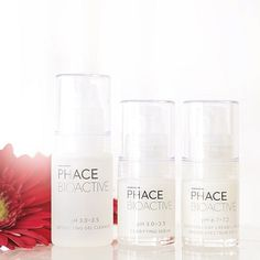 Clear Face Kit. The perfect introduction to the PHACE BIOACTIVE line. A high performance 3-step system for combating adult-acne without drying or redness, and reducing the signs of aging. #thephacelife #balance #ph #phbalance #beauty #clearskin #health #healthyskin #detox #natural #skincare #naturalskincare #radiant #glow #lifestyle #selflove #mindfulness #rejuvenate #antiaging #scientific #youthful #smooth #pure #clean #nontoxic