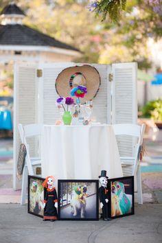 Sweetheart Table Decor   Fiesta Inspired Wedding   Swann Soirees Real San Diego Wedding Planner   Bauman Photography