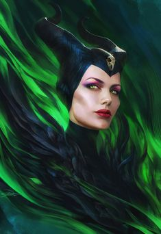 Artwork of anything Disney related! Watch Maleficent, Angelina Jolie Maleficent, Maleficent Movie, Malificent, Fanart, Disney Magic, Walt Disney, Angelina Jolie Pictures, Disney Villains