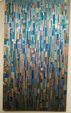 Nebiur Arellano handpainted silk paintings Dot Painting, Silk Painting, Fabric Scraps, Scrap Fabric, String Quilts, Textile Art, Contemporary Art, Street Art, Art Gallery