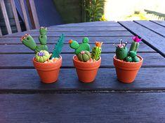 clay cactus craft - Buscar con Google